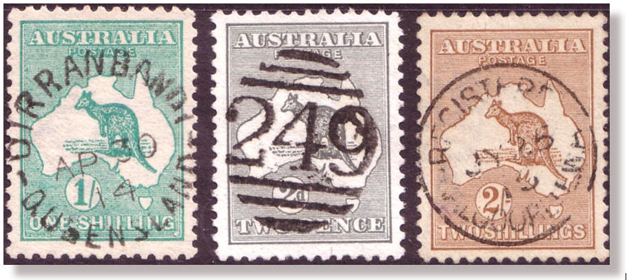 Glen Stephens Stamp Rarity Page