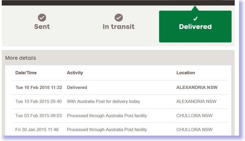 australia post how to send parcel