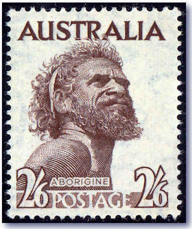 Australia aborigine quot one pound jimmy quot stamp unique discovery of